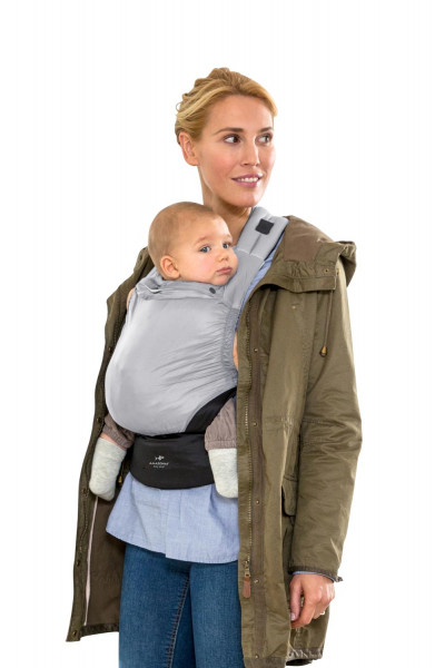 Babytrage Smart Carrier ultra-light stone