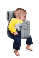 Babytragen-Einlage Vento grau