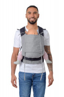 Baby Carrier with carry sling fabric stone